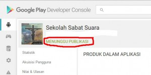 Suara SS - Upload blog menunggu